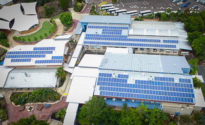 Environmental Sustainability Solar Panels at Suncoast Christian College