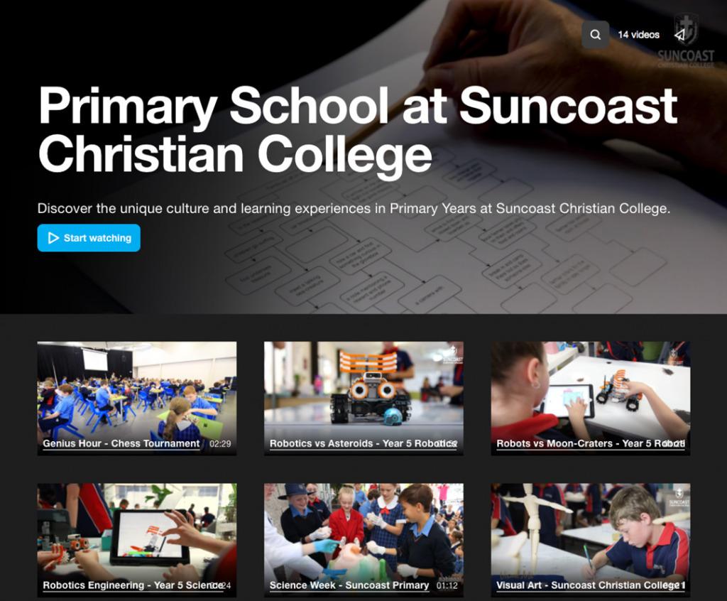 Suncoast Priamry Video Showcase