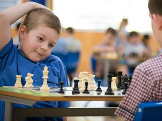 Chess Player at Suncoast Primary