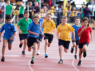 House Runners at Suncoast Athletics Carnival