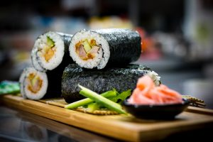 Sushi Rolls - Suncoast Christian College Cafe`