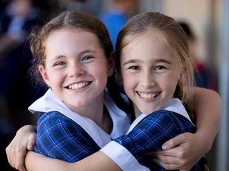 Year 5 girls at Suncoast Christian Collge